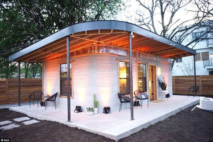 Startup icon vulcan 3d printer builds 10k houses in less for Cost to build a house in virginia